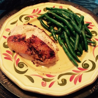 blog_chicken and greenbeans