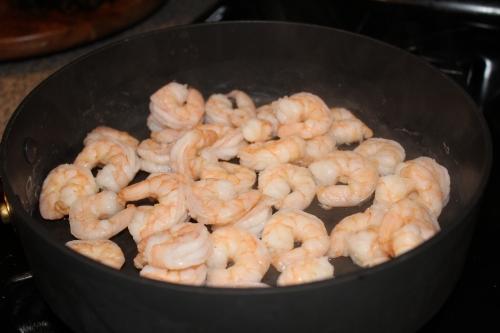 shrimp scampi cooked shrimp.JPG