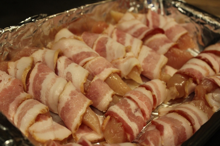 bacon chicken_wraped in dish