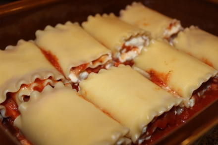 lasagna rollups_in baking dish