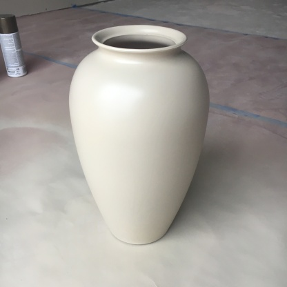 tuscan vase upcycle_final after first paint