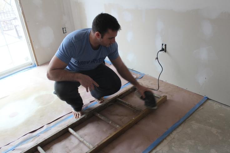blanket ladder_alex sanding