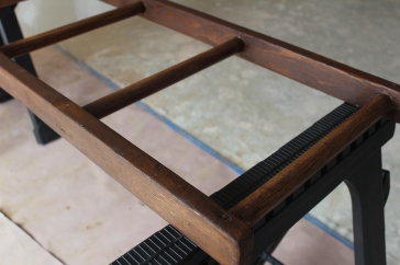 blanket ladder_stained 2