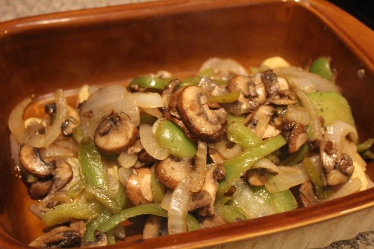 smothered chicken_add veggies