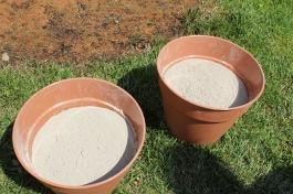 light flower poles_fill pots with concrete